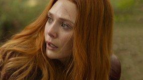 «Мстители: Война бесконечности»: актрисы Элизабет Олсен, Карен Гиллан, Пом Клементьефф