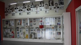 Экспозиция Музея олимпийской славы