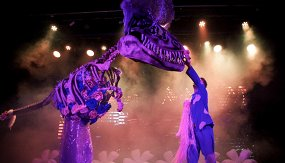 Лунозавр на Луне