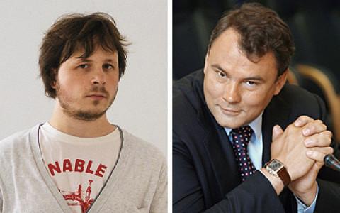 Александр Уржанов и Петр Толстой