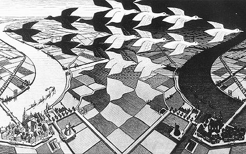 От фрактала до рекурсии: краткий гид по миру М.К.Эшера