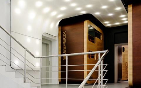Лапша на «Арме», галстуки Chehov на «Флаконе», первый капсульный отель Sleepbox