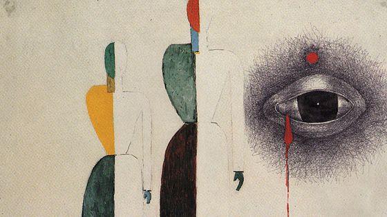 Рисунки поэтов из собраний Литературного музея и личных архивов