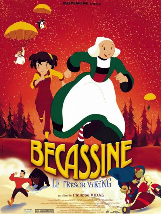 Бекассин (Bécassine — Le trésor viking)