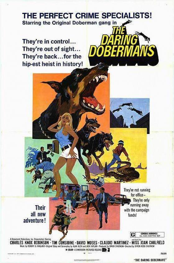 Отважные доберманы (The Daring Dobermans)