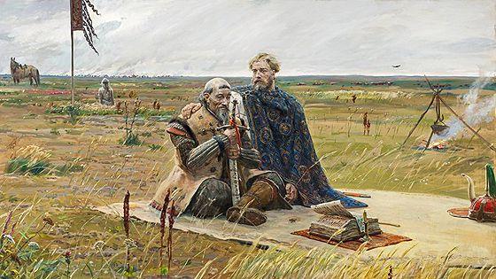 Отражая эпоху… Исторические картины Павла Рыженко