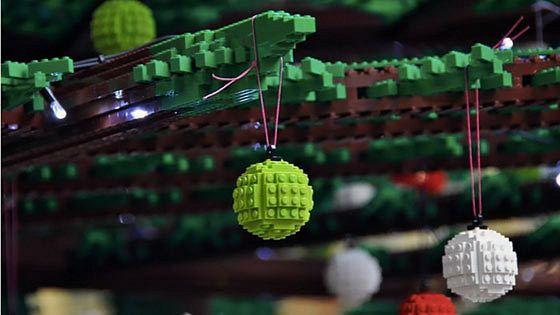 Новогодняя елка Lego