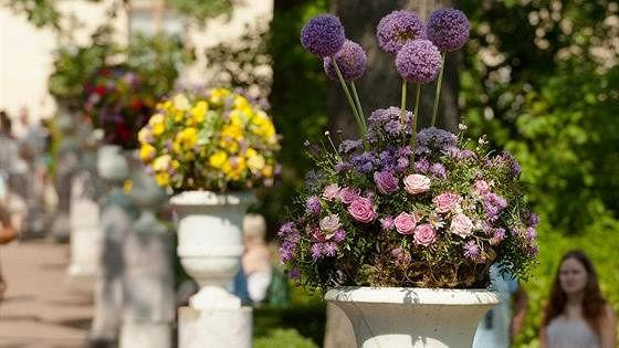 XVI Международный фестиваль цветочного и ландшафтного искусства «Императорский букет»