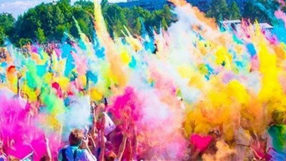Фестиваль красок холи HoliDay. Москва-2015