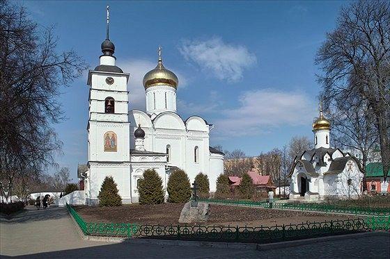 Собор Бориса и Глеба в Борисоглебском Дмитровском монастыре