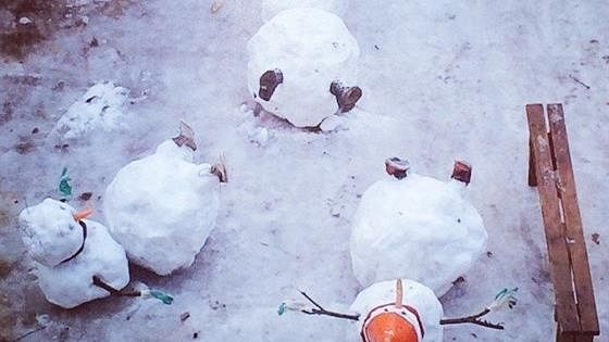 Xenia. Я ем снег