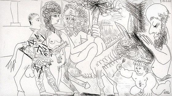 Пабло Пикассо. Искушение