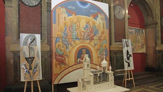 Образы православия в творческих работах студентов. Учитель-ученик
