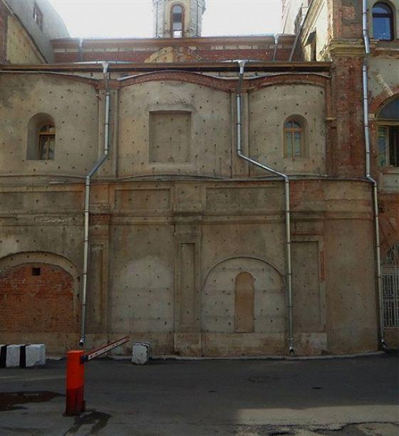Церковь Илии Пророка в Теплых рядах