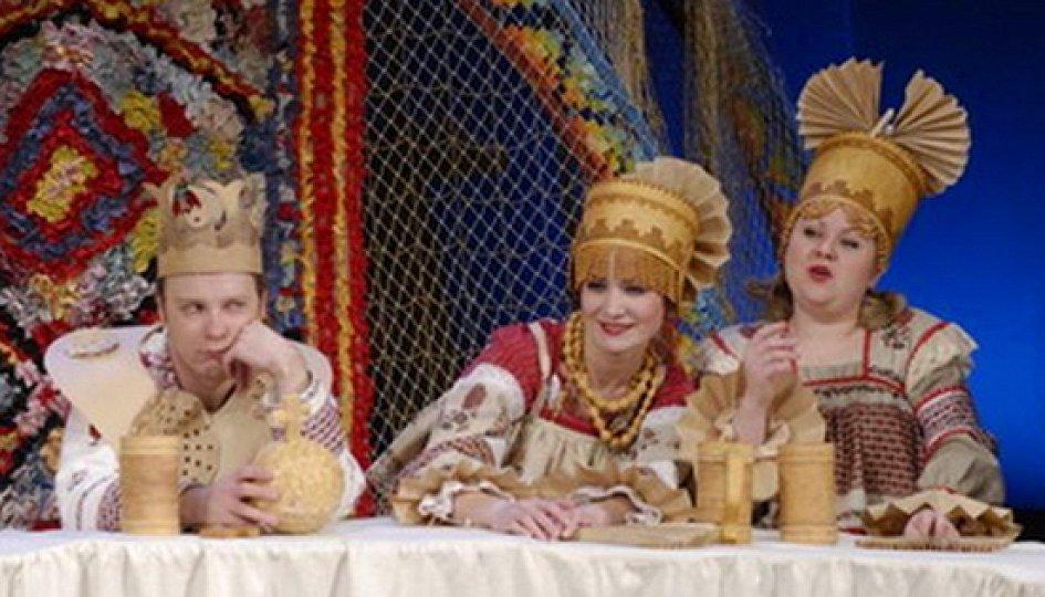 Театр: Золоченые лбы, Пермь