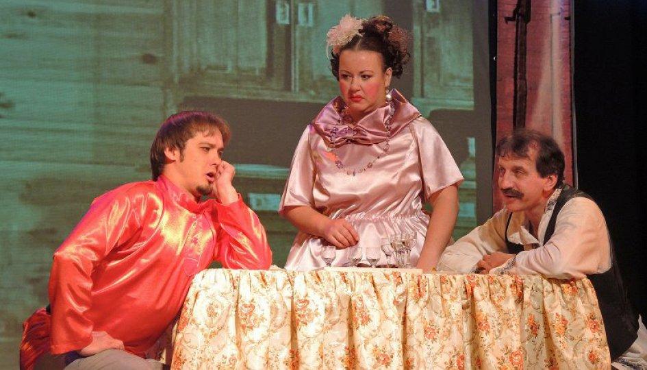 Театр: Царицынские байки