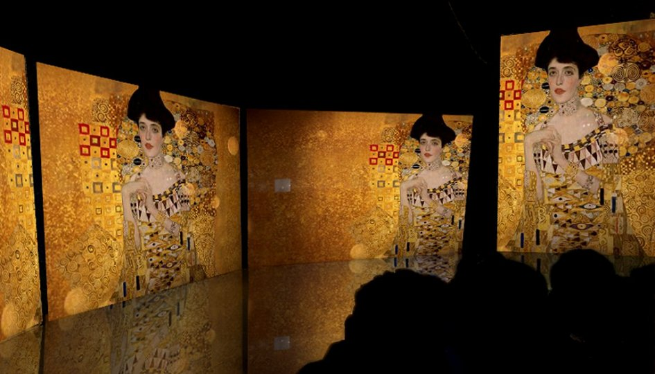 Выставки: Климт. Ожившие полотна