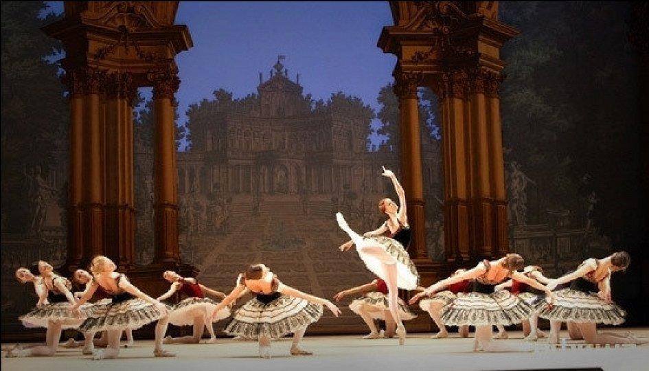 Гран па из балета «Пахита»