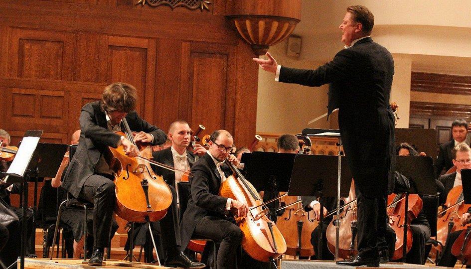 Концерты: Государственный симфонический оркестр РТ. Дирижер Игорь Манашеров