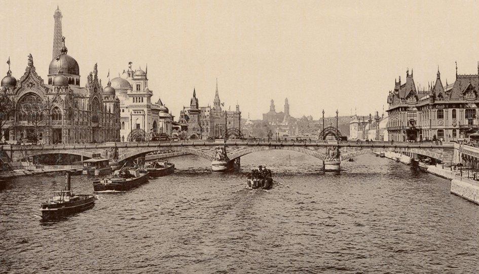 Выставки: Всемирная выставка в Париже 1900 года в стереопарах и фотографиях