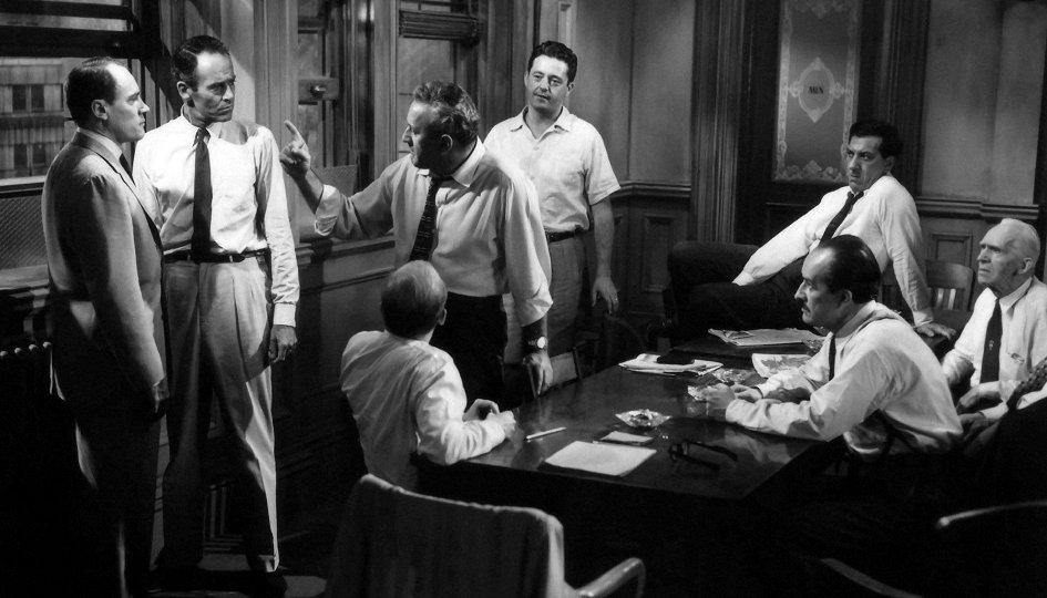 Кино: «12 разгневанных мужчин»