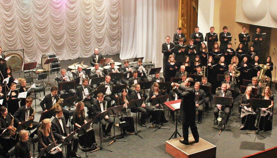 Концерты: Концертный оркестр духовых инструментов им. Владимира Еждика