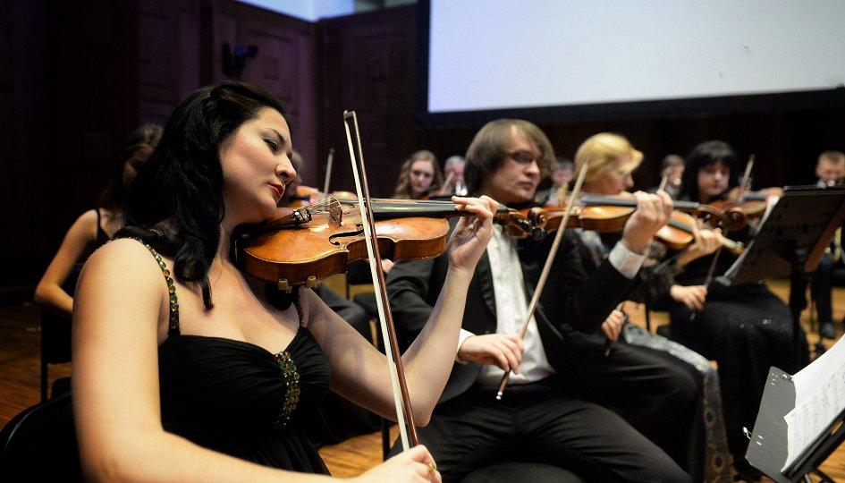 Концерты: Эстрадный оркестр