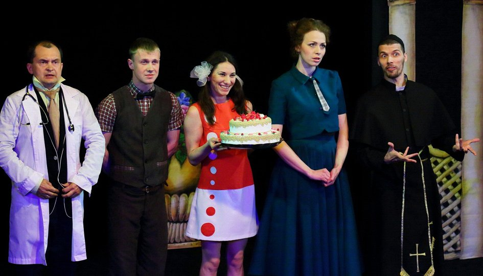 Театр: Девушки на миллион, Екатеринбург