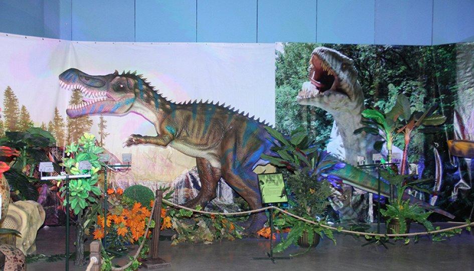 Выставки: Мир динозавров