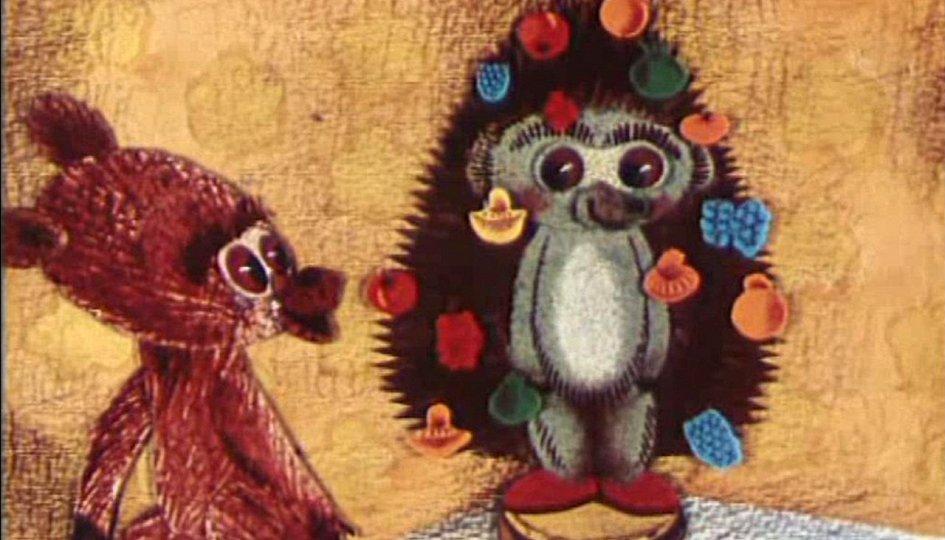 Кино: «Как ежик и медвежонок встречали Новый год»