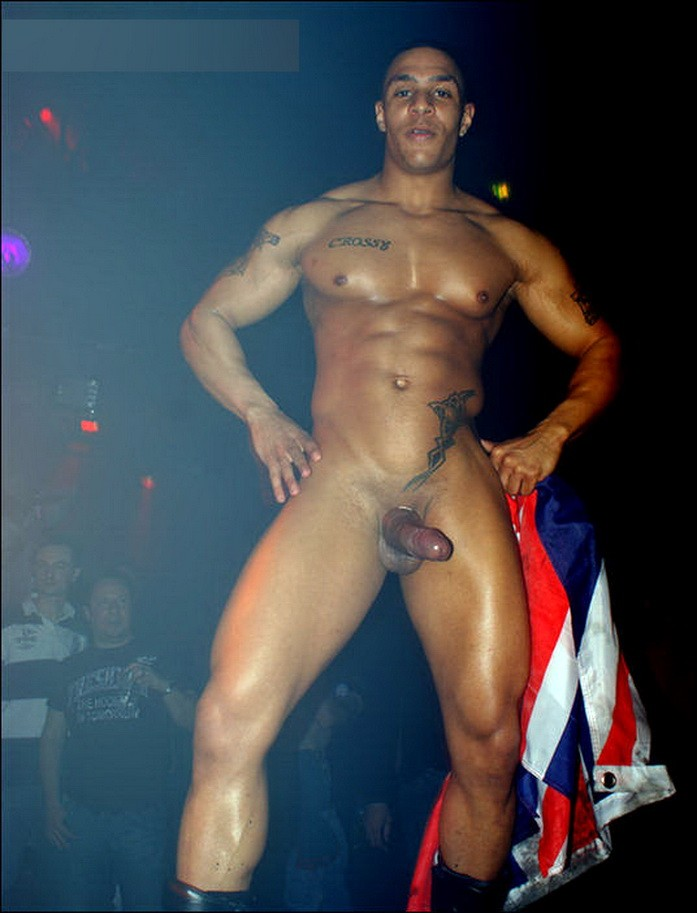 Male naked nude stripper