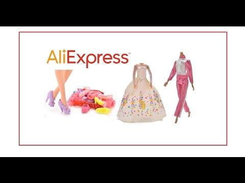 Заказать одежду для барби на алиэкспресс