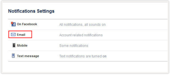 Facebook dating notification email