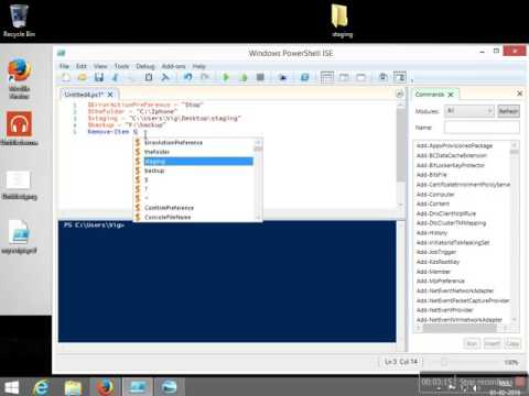 Download files from websites programatically via powershell