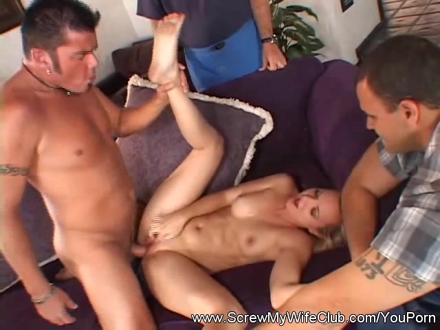Wife Fucks Husband Watches