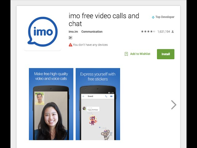 IMO Download App Android PC (imo Messenger)