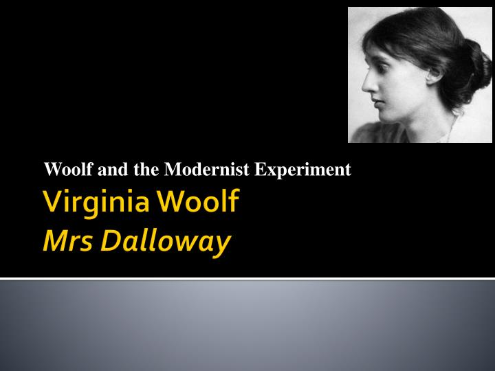 SparkNotes: Mrs Dalloway: Study Questions