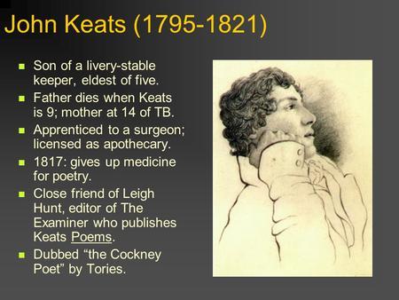 John Keats - Poetry Foundation