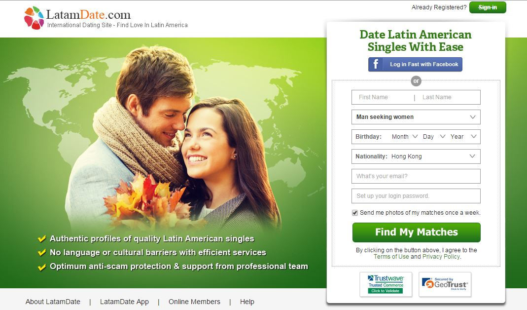 Dating sites for latin america