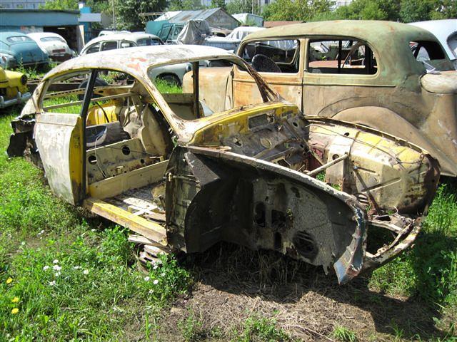 Куплю старый автомобиль на запчасти