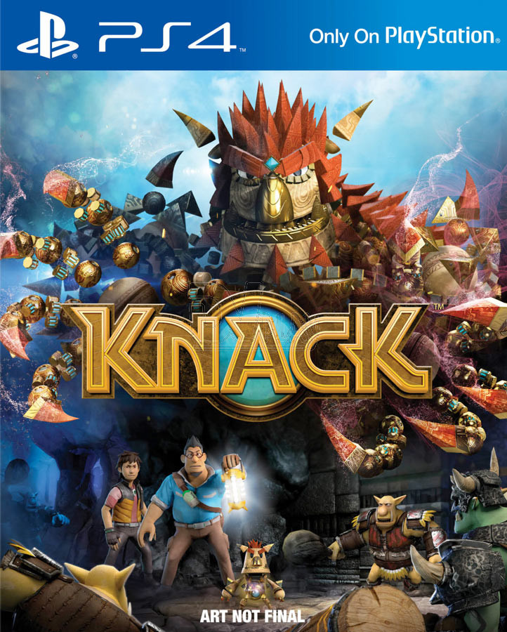 Is knack for ps4 a 2 player game game