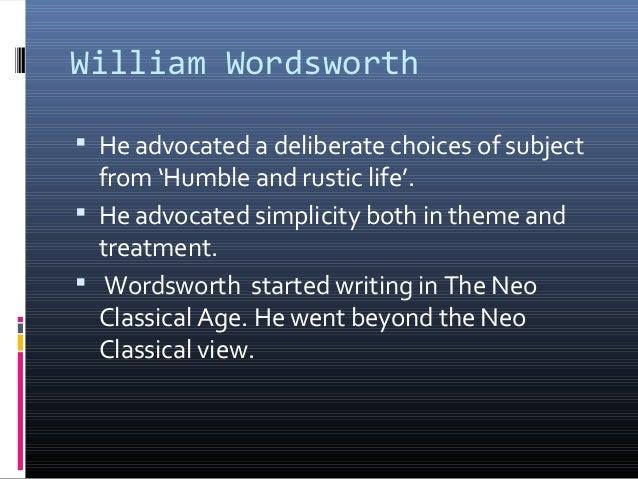 wordsworth literary analysis