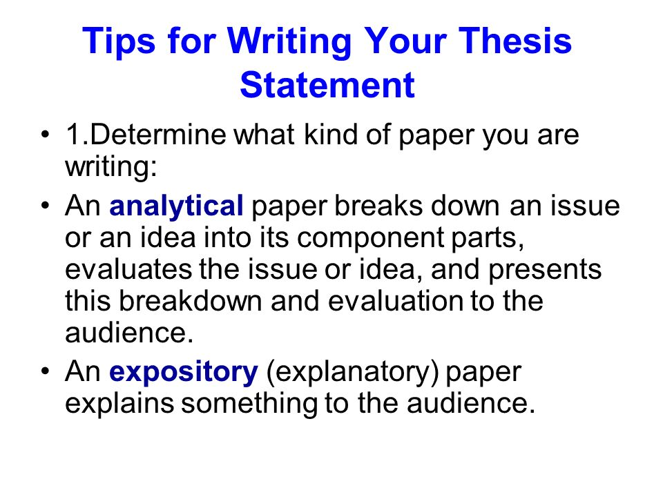 Write my thesis evaluation criteria