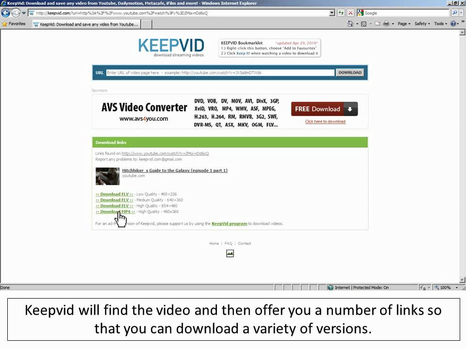 OFFICIAL KeepVid Video Download Tips: Download
