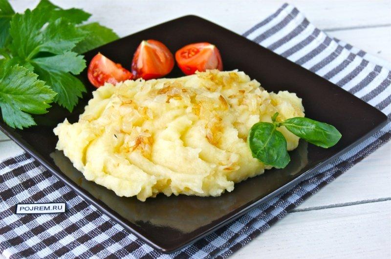 Пюре картофельное быстро рецепт