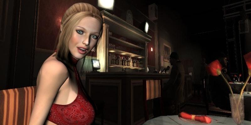 Dating simulator browser game