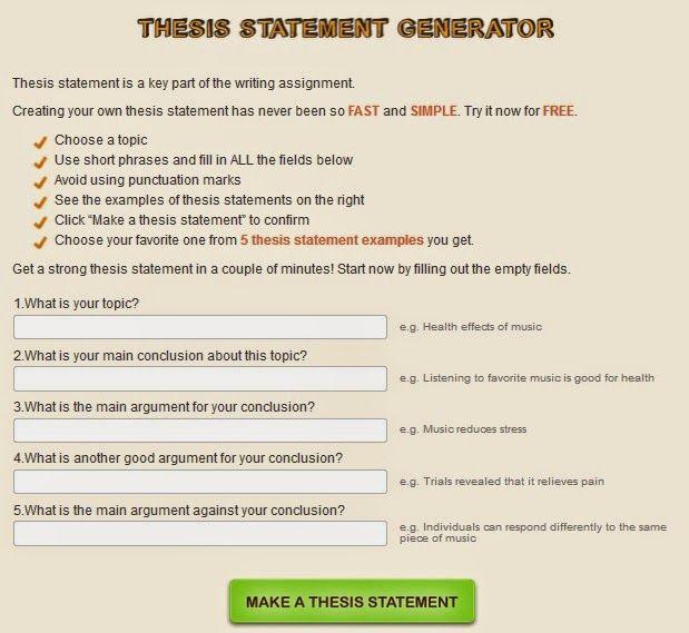 informative speech generator