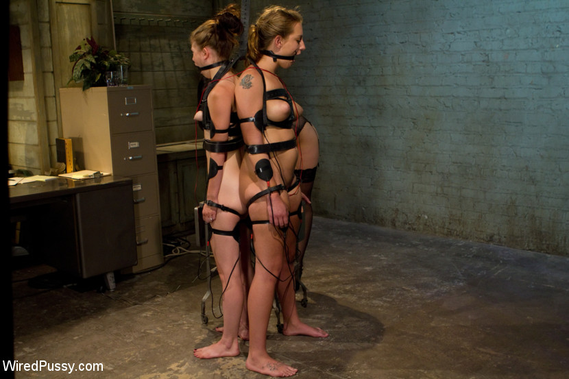 Slave chained nude girls lesbian