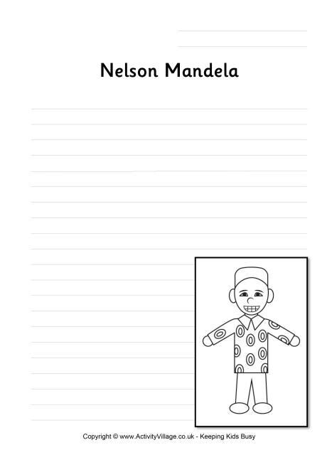 Write my nelson mandela essay