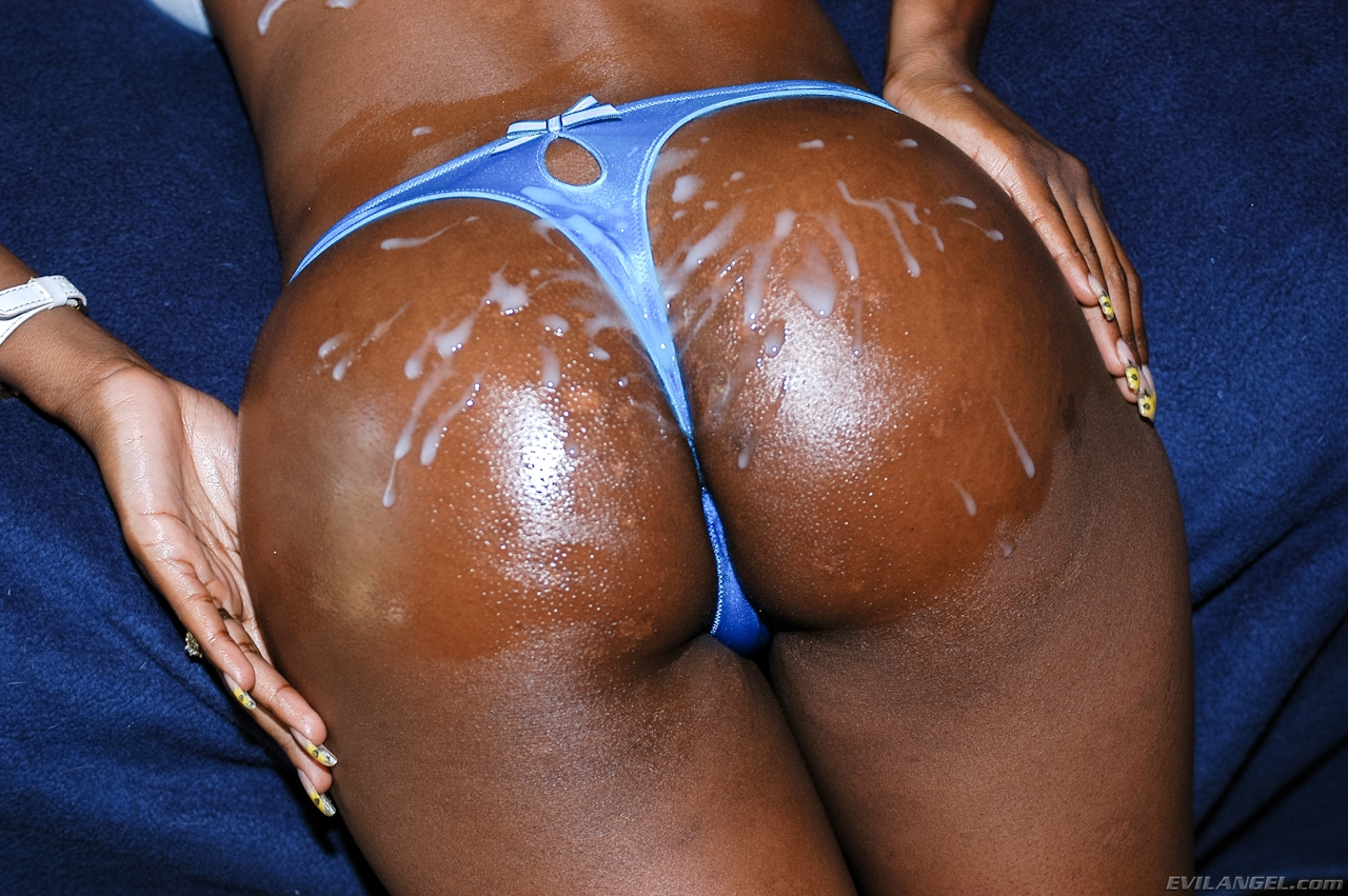 Sexy Ebony Booty In Panties - Other-5993